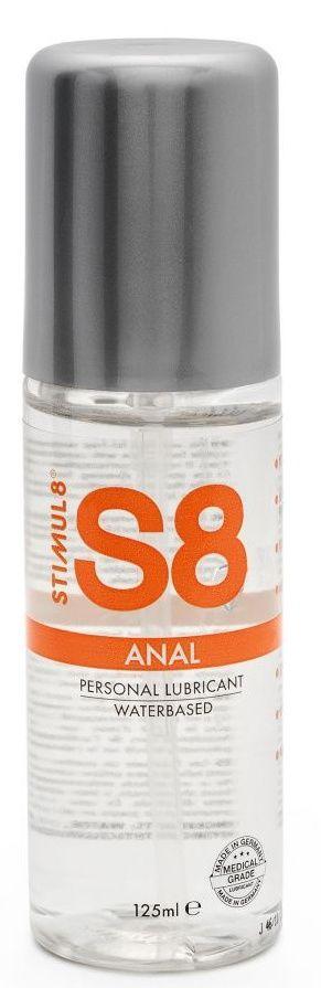 Анальная смазка на водной основе S8 Anal Lube - 125 мл.-8173