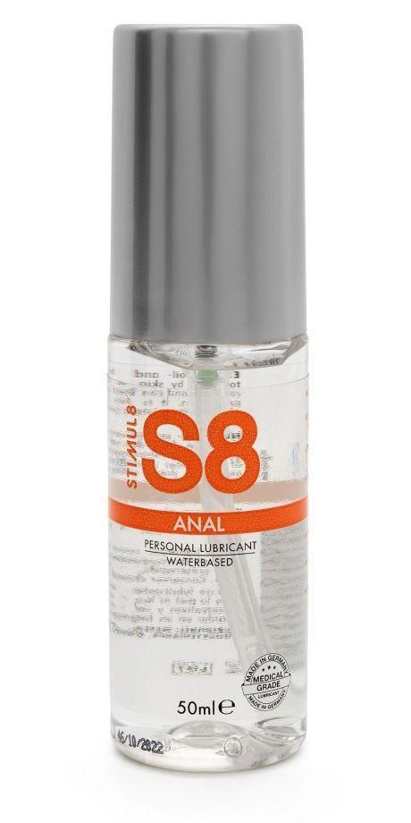 Анальная смазка на водной основе S8 Anal Lube - 50 мл.-11311