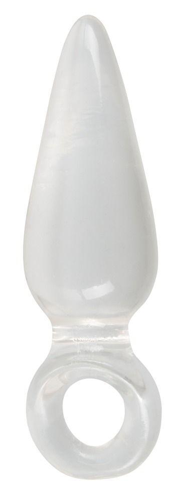 Анальная втулка с колечком на пальчик Finger Plug - 9