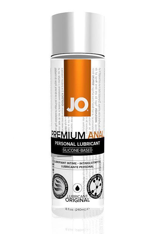 Анальный лубрикант на силиконовой основе JO Anal Premium - 240 мл.-5195