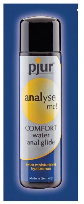 Анальный лубрикант pjur ANALYSE ME Comfort Water Anal Glide - 2 мл.-11401