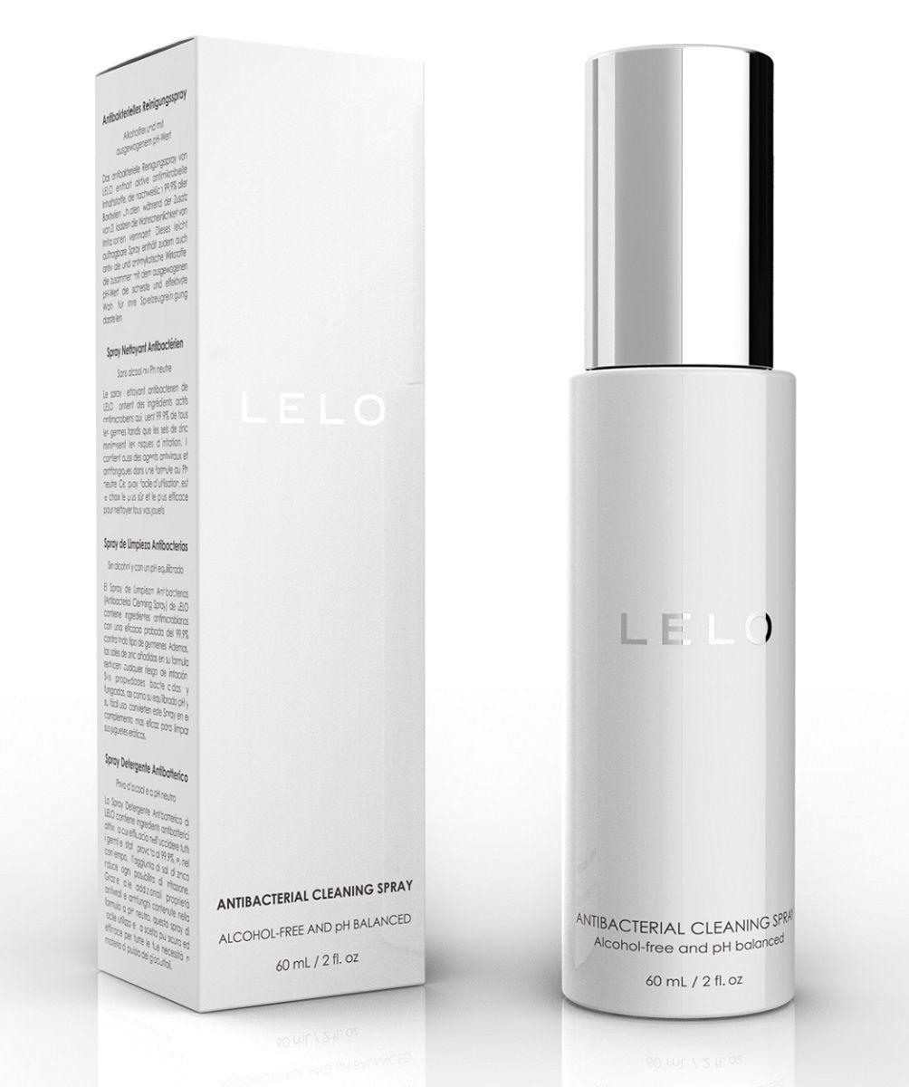 Антибактериальный очищающий спрей LELO - 60 мл.-1264