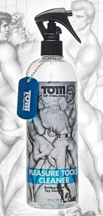 Антибактериальный спрей Tom of Finland Pleasure Tools Cleaner - 473 мл.-10510