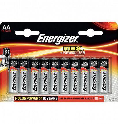 Батарейки Energizer MAX AA/LR6 1