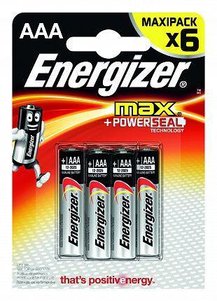 Батарейки Energizer MAX E92/AAA1