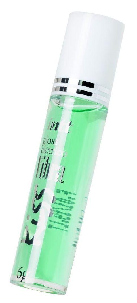 Блеск для губ GLOSS VIBE Mint с ароматом мяты и эффектом вибрации - 6 гр.-9542