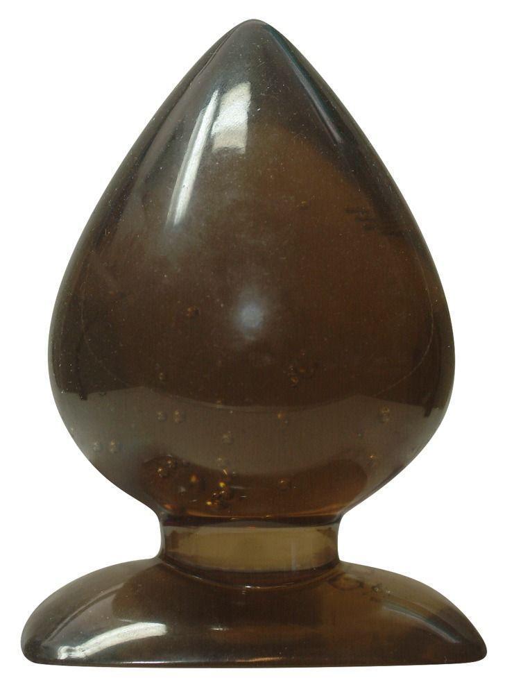 Большая анальная пробка каплевидной формы Anal Drops - 13 см.