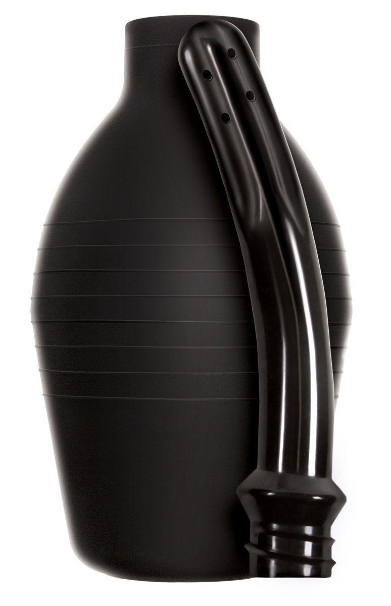 Черный анальный душ Renegade Body Cleanser-13141
