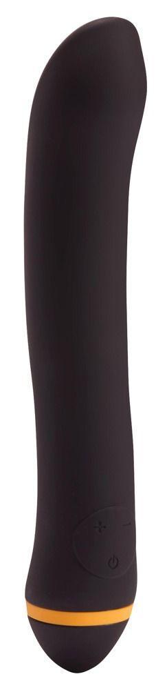 Чёрный вибратор для массажа G-точки Turbo G-Spot - 22