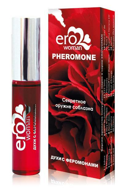 Духи с феромонами для женщин Erowoman №3 - 10 мл.-7673