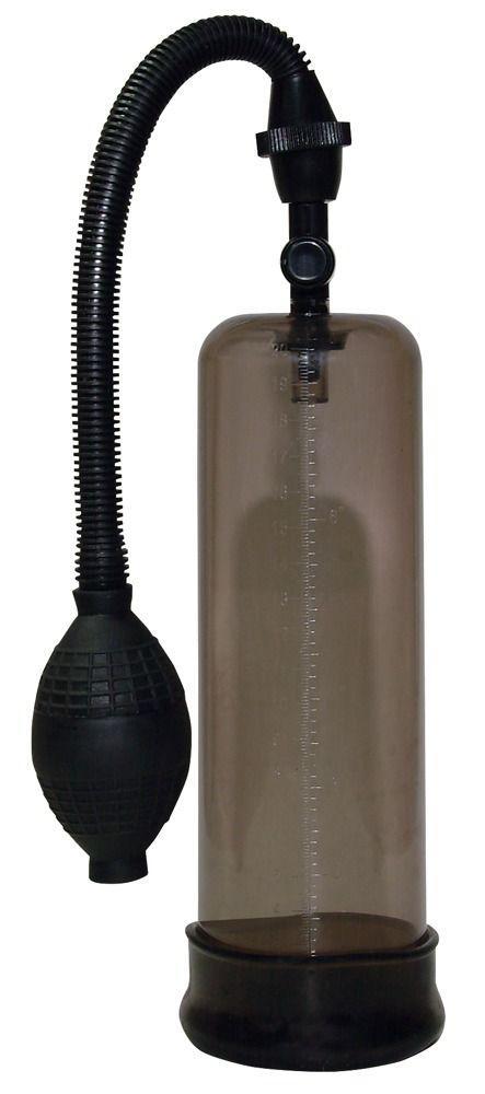 Дымчатая вакуумная помпа для пениса Big Dream-2815
