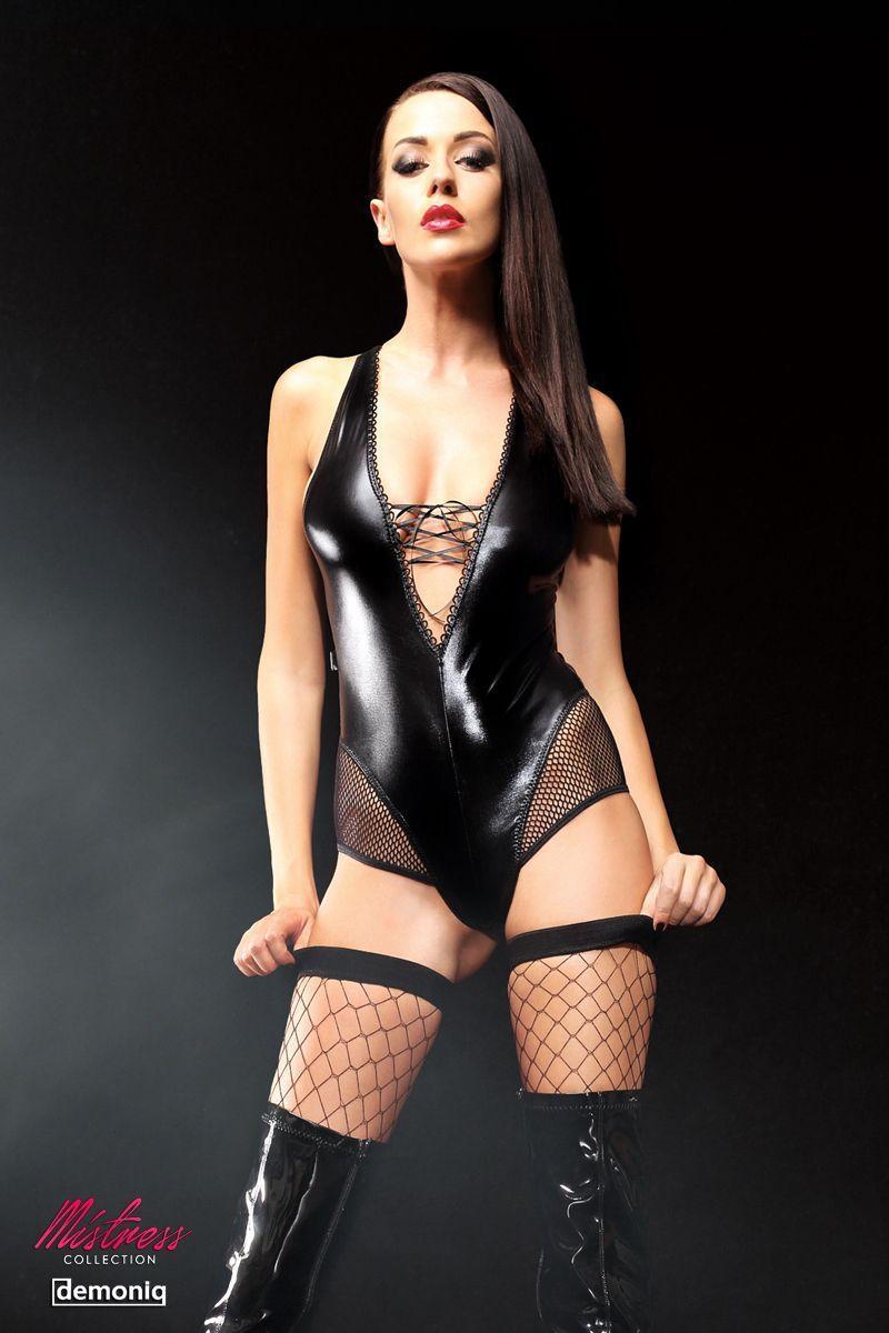 Эффектное боди Claudia Premium со шнуровкой на груди