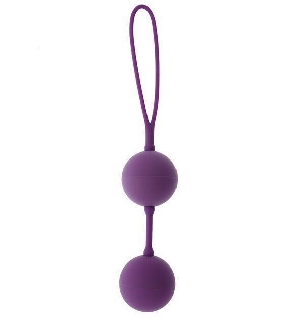 Фиолетовые вагинальные шарики GOOD VIBES THE PERFECT BALLS PURPLE-260