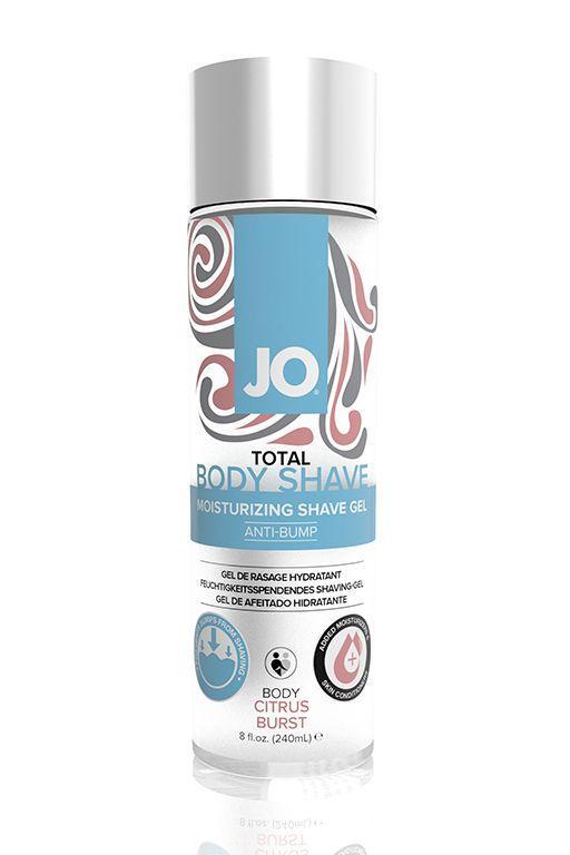 Гель для бритья и интимной гигиены JO TOTAL BODY SHAVE GEL CITRUS BURST - 240 мл.-10893