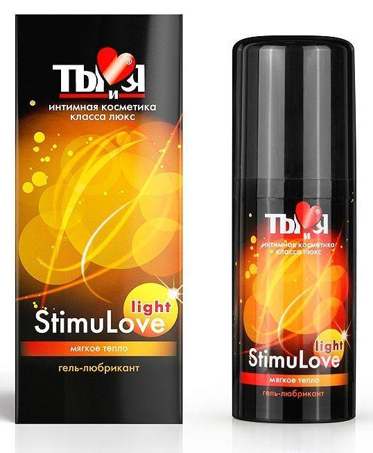 Гель-лубрикант StimuLove light для мягкой стимуляции возбуждения - 20 гр.-1571