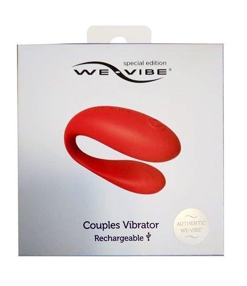 Красный вибратор для пар We-vibe Special Edition-12704