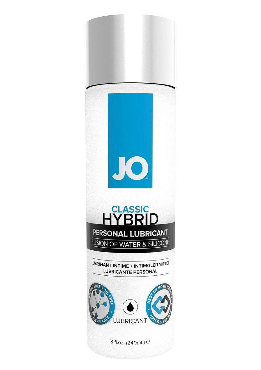 Лубрикант на водно-силиконовой основе JO CLASSIC HYBRID - 240 мл.-6183