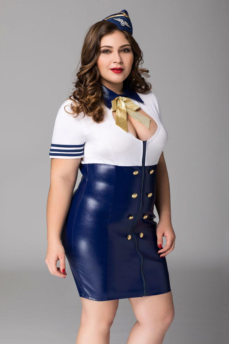Манящий костюм стюардессы Devon