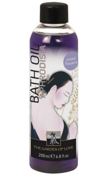 Масло для ванны Афродизия с запахом экзотических цветов - 200 мл.-2278