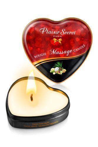 Массажная свеча с ароматом экзотических фруктов Bougie Massage Candle - 35 мл.-4703