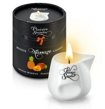 Массажная свеча с ароматом манго и ананаса Bougie de Massage Ananas Mangue - 80 мл.-7515