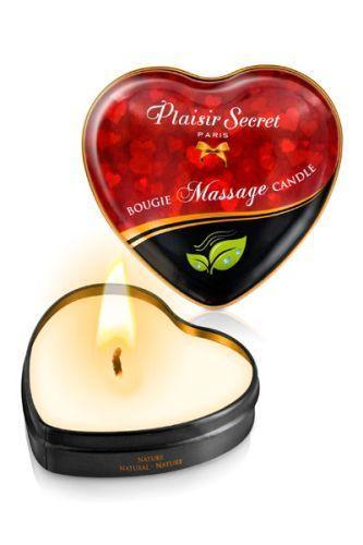 Массажная свеча с нейтральным ароматом Bougie Massage Candle - 35 мл.-4693