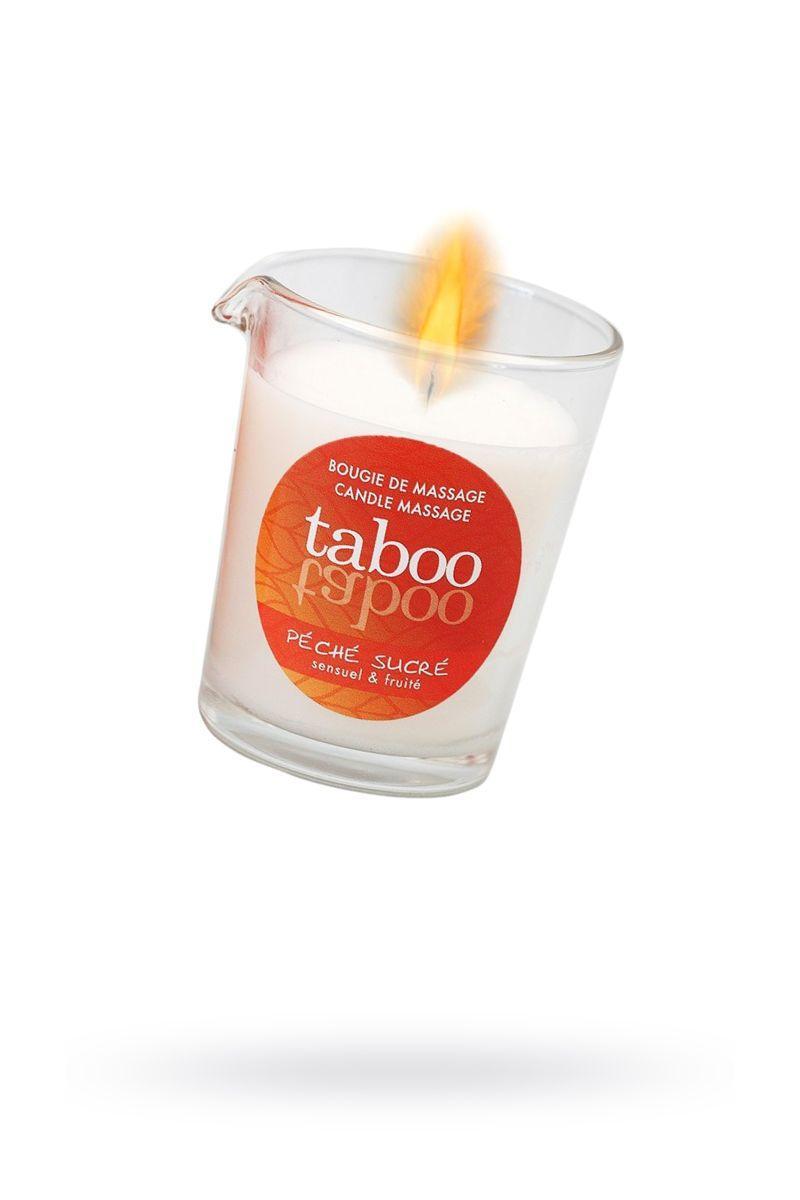 Массажное аромамасло с афродизиаками для женщин RUF Taboo Peche sucre - 60 гр.-7064