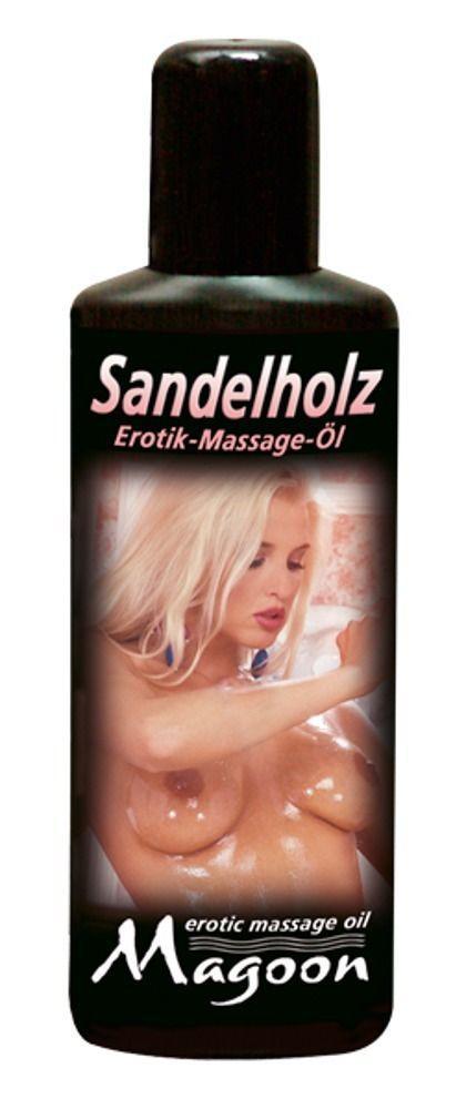Массажное масло Magoon Sandalwood - 100 мл.-12262