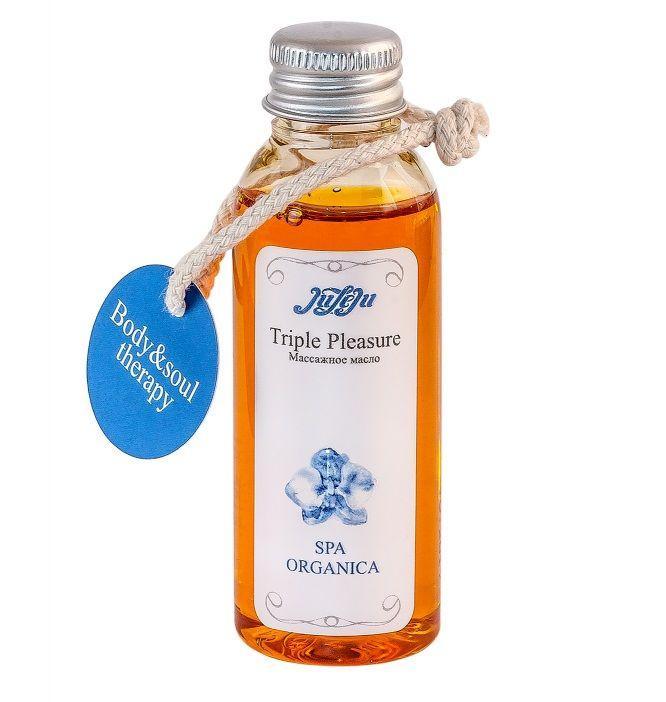 Массажное масло Triple Pleasure Spa Organica - 50 гр.-2117
