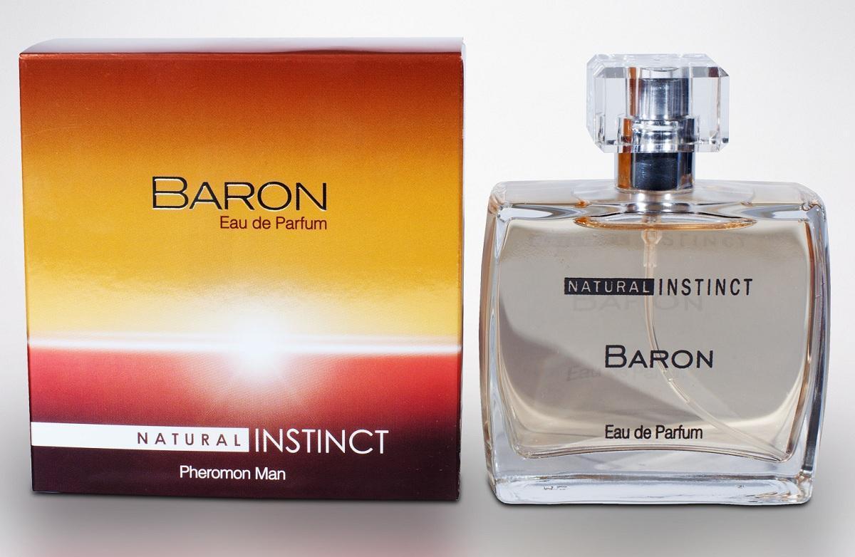 Мужская парфюмерная вода с феромонами Natural Instinct Baron - 100 мл.-7796