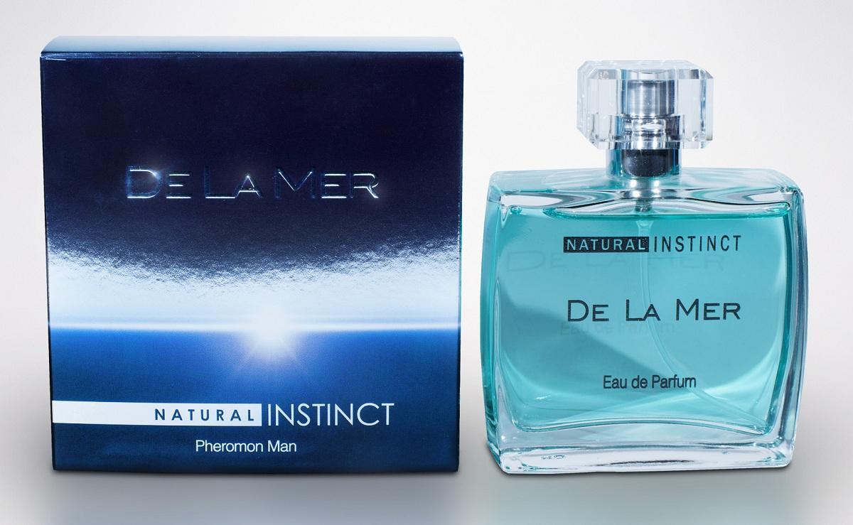 Мужская парфюмерная вода с феромонами Natural Instinct De La Mer - 100 мл.-7798