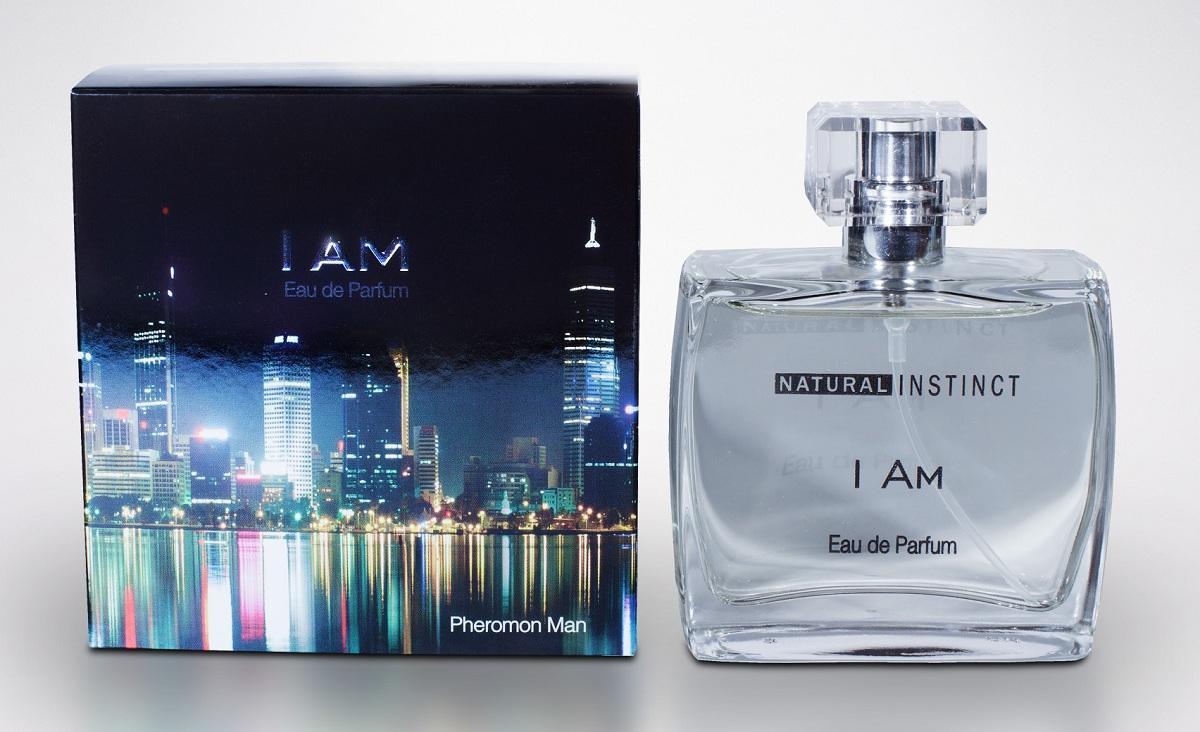 Мужская парфюмерная вода с феромонами Natural Instinct I Am - 100 мл.-9891