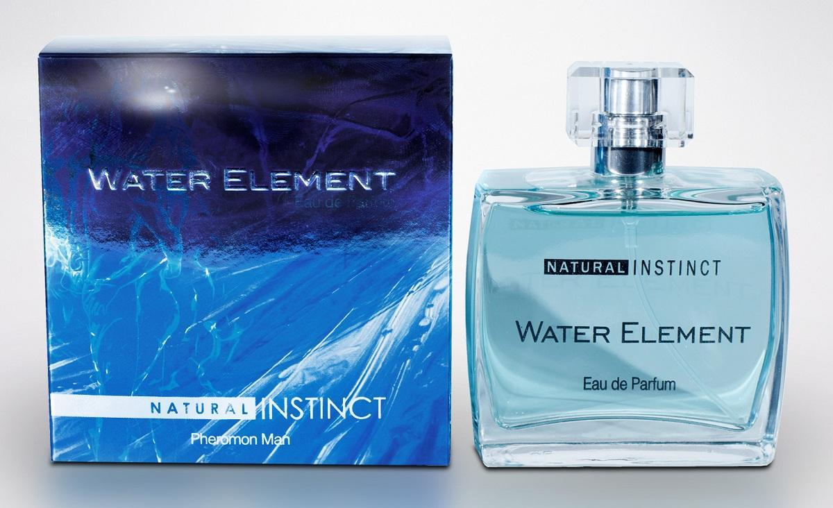 Мужская парфюмерная вода с феромонами Natural Instinct Water Element - 100 мл.-7793