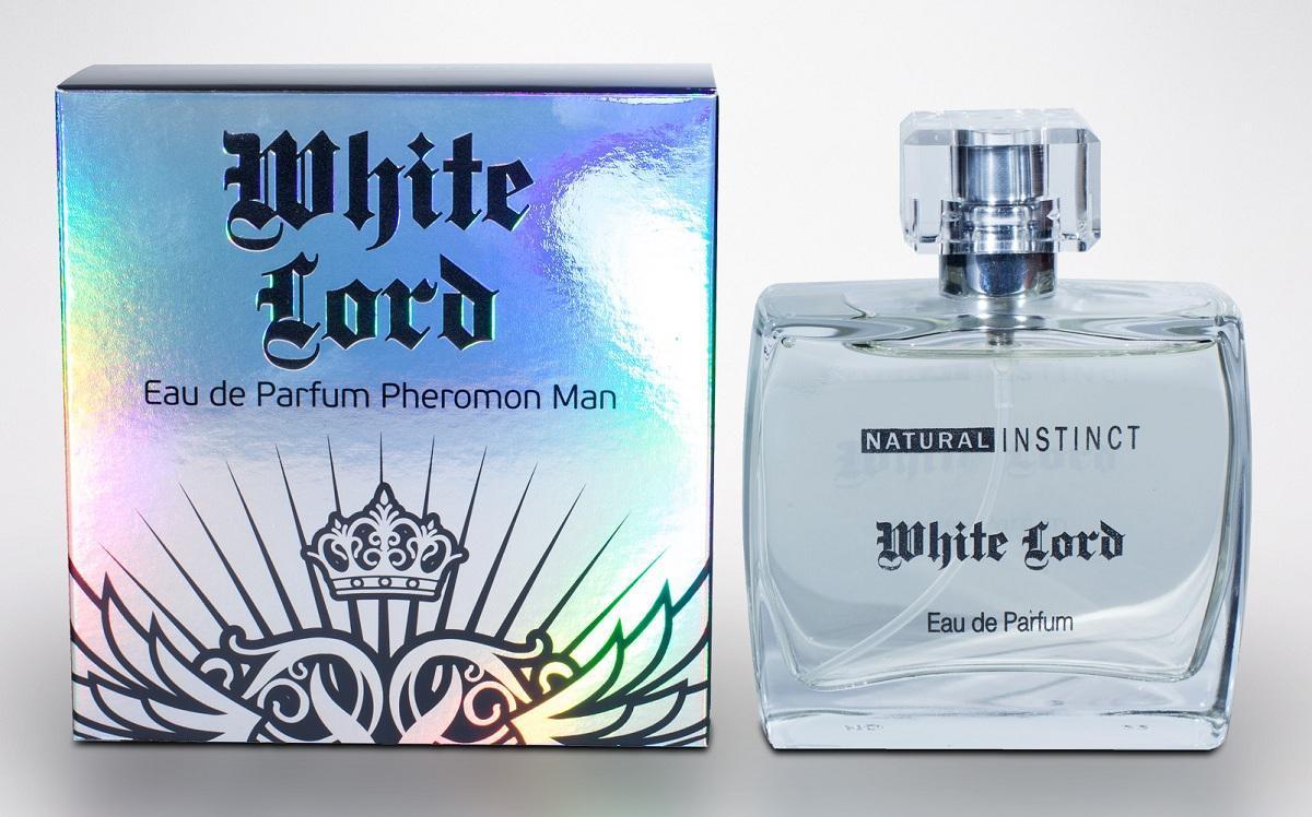 Мужская парфюмерная вода с феромонами Natural Instinct White Lord - 100 мл.-9893