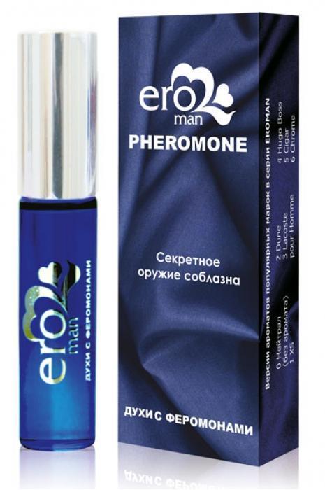 Мужские духи с феромонами без запаха Eroman Нейтрал - 10 мл.-7679