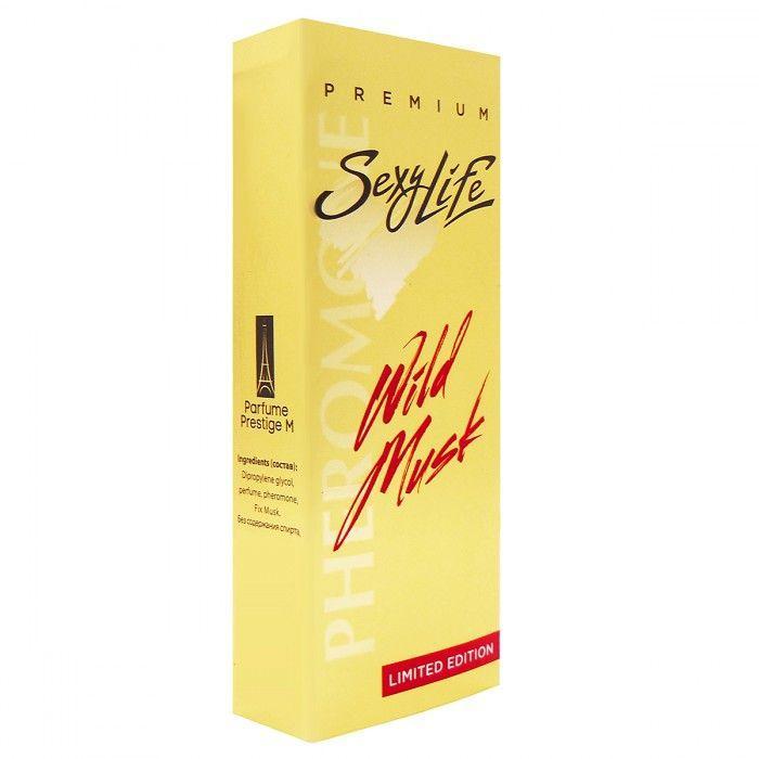 Мужские духи Wild Musk №2 с мускусом и феромонами - 10 мл.-2044