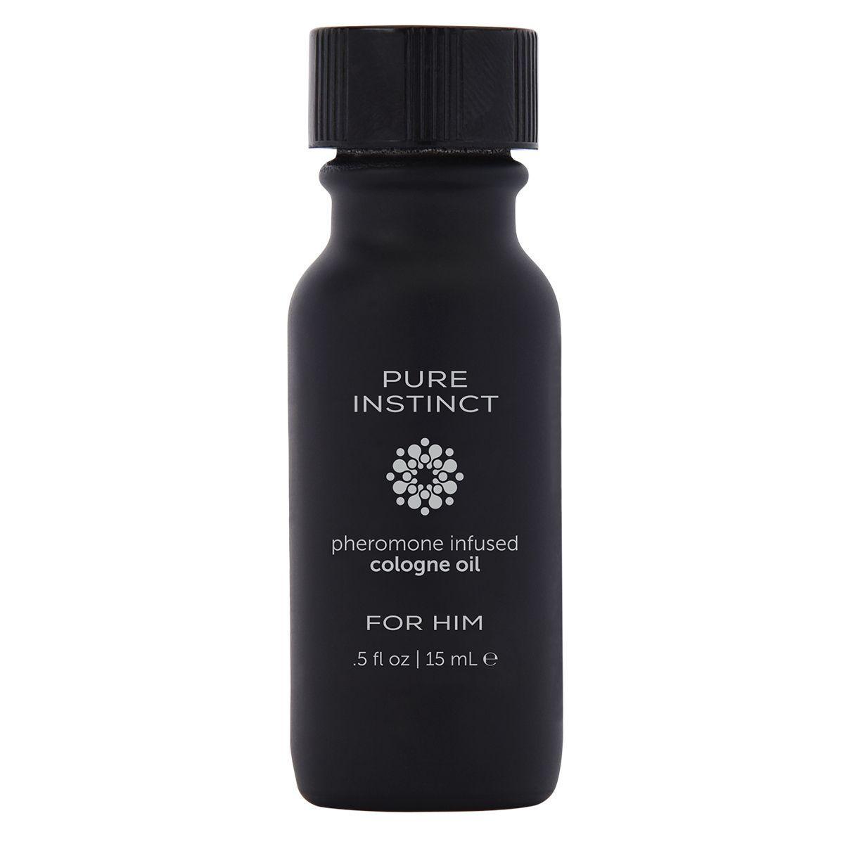 Мужское парфюмерное масло с феромонами PURE INSTINCT - 15 мл.-6614