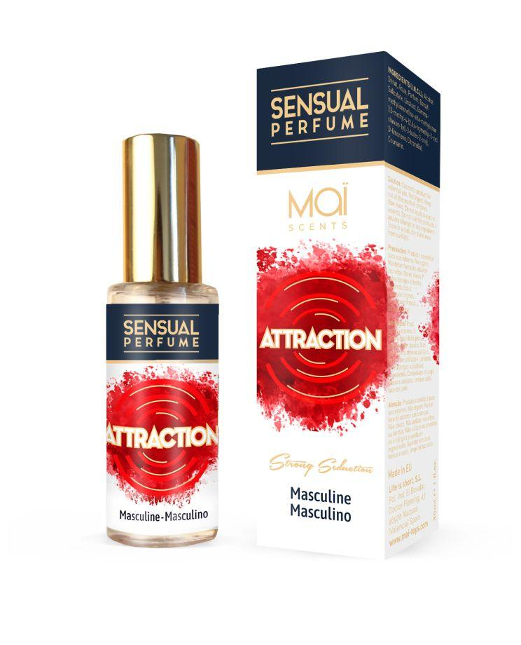 Мужской парфюм с феромонами MASCULINE PERFUME WITH SENSUAL ATTRACTION - 30 мл.-10578