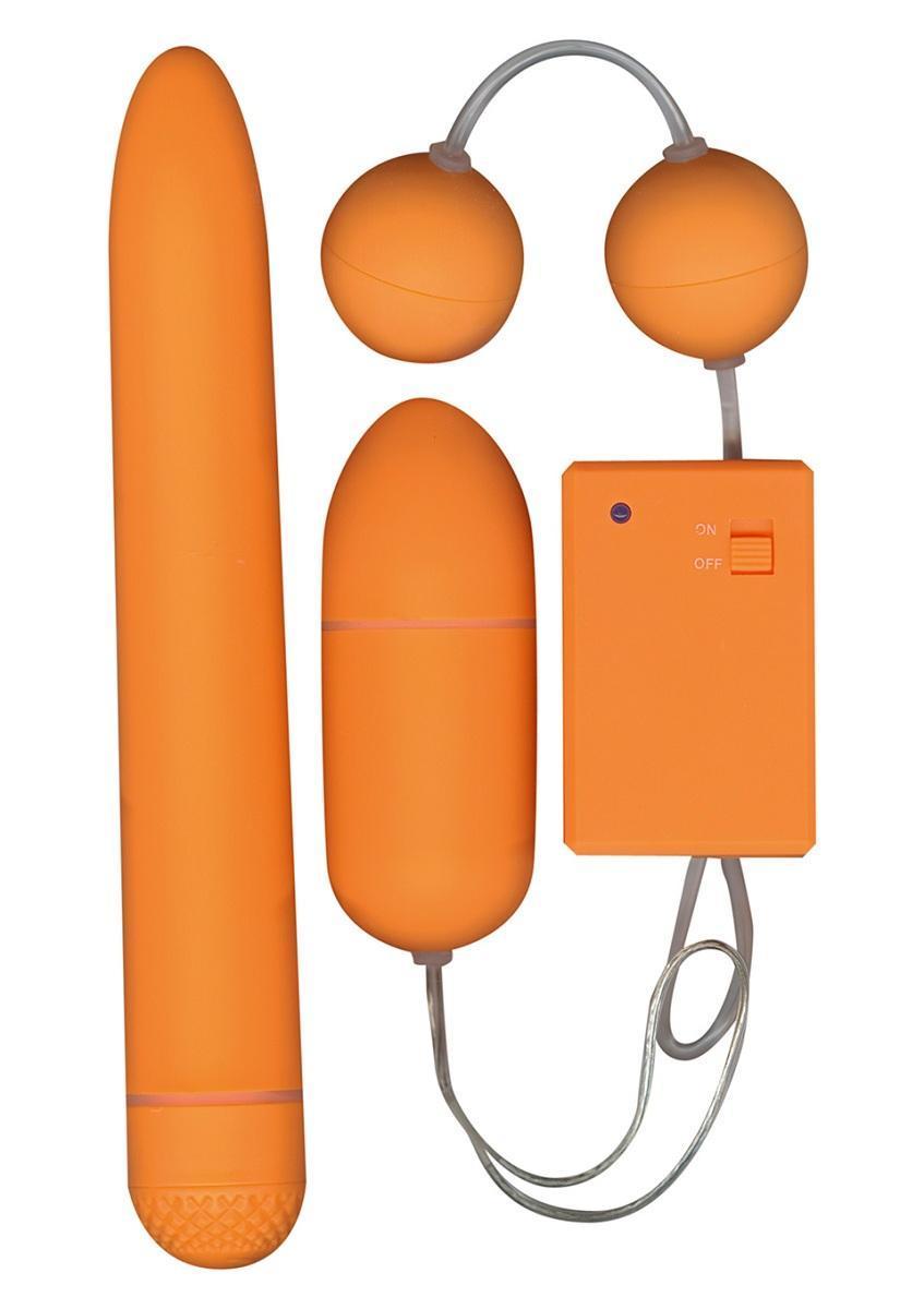 Набор оранжевых стимуляторов FUNKY FUN BOX-5952