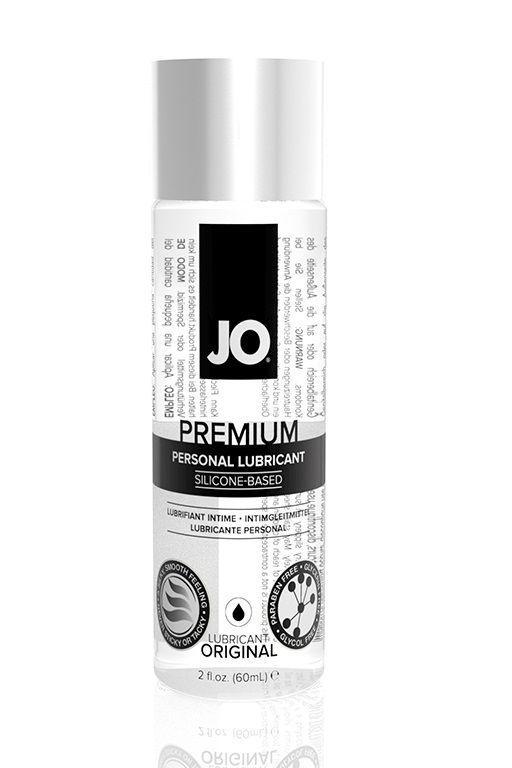 Нейтральный лубрикант на силиконовой основе JO Personal Premium Lubricant - 60 мл.-2892