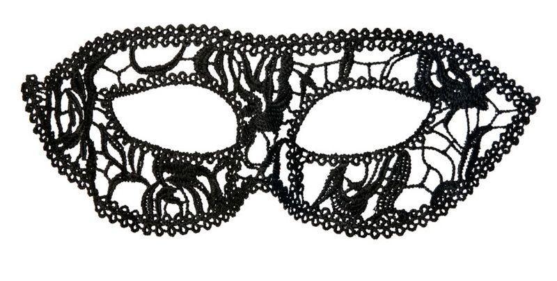 Нитяная маскарадная маска на глаза
