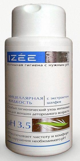 Очищающая интимная мицеллярная жидкость для женщин с экстрактом шалфея - 250 мл.-10371