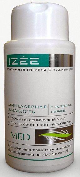 Очищающая интимная мицеллярная жидкость для женщин с экстрактом тимьяна - 250 мл.-10370