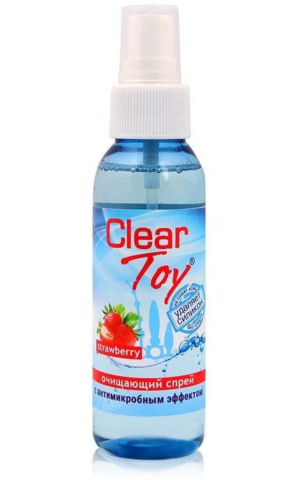 Очищающий спрей для игрушек CLEAR TOY Strawberry - 100 мл.-10234