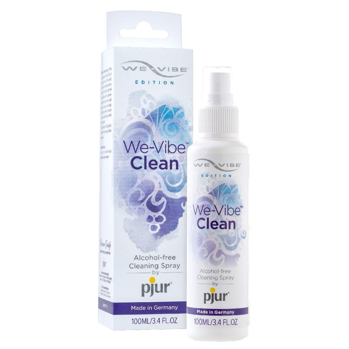 Очиститель для игрушек без спирта We-Vibe Clean - 100 мл.-4728