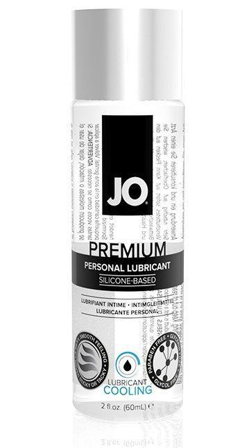 Охлаждающий лубрикант на силиконовой основе JO Personal Premium Lubricant Cooling - 60 мл.-10912