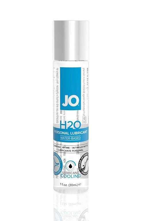 Охлаждающий лубрикант на водной основе JO Personal Lubricant H2O COOLING - 30 мл.-2815