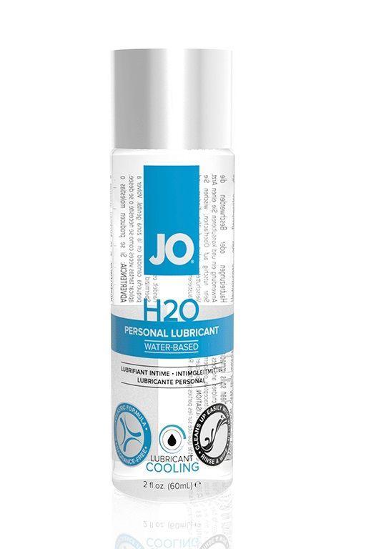 Охлаждающий лубрикант на водной основе JO Personal Lubricant H2O COOLING - 60 мл.-2904