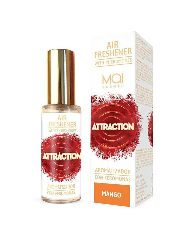 Освежитель воздуха с феромонами и ароматом манго - 30 мл.-10585
