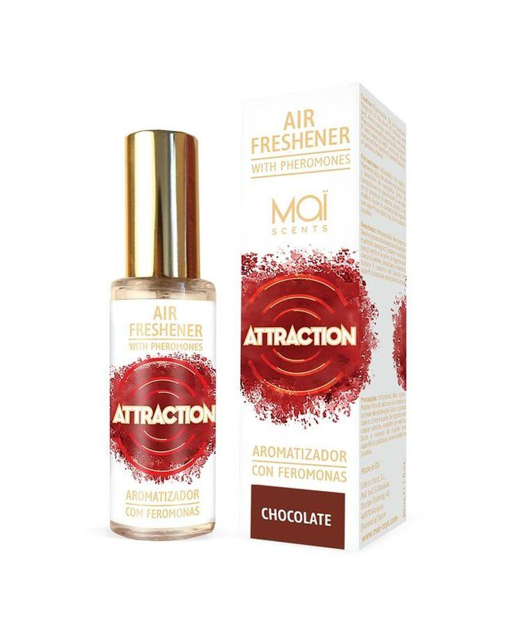 Освежитель воздуха с феромонами и ароматом шоколада - 30 мл.-10582